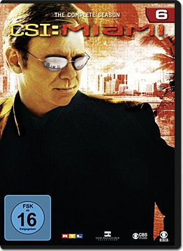CSI: Miami - Die komplette Season 06 Box (6 DVDs)