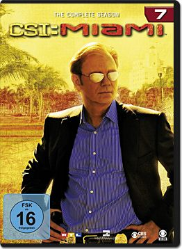 CSI: Miami - Die komplette Season 07 Box (6 DVDs)
