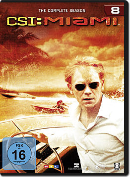 CSI: Miami - Die komplette Season 08 Box (6 DVDs)