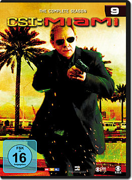 CSI: Miami - Die komplette Season 09 Box (6 DVDs)