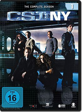 CSI: New York - Die komplette Season 1 Box (6 DVDs)