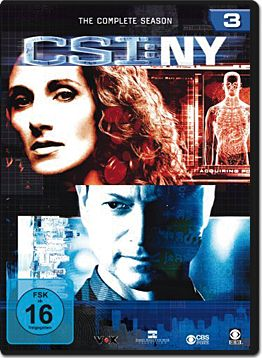 CSI: New York - Die komplette Season 3 Box (6 DVDs)