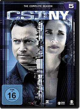 CSI: New York - Die komplette Season 5 Box (6 DVDs)