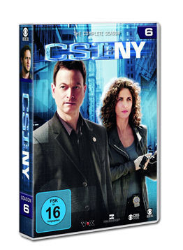 CSI: New York - Die komplette Season 6 Box (6 DVDs)