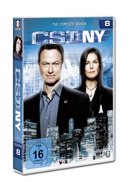 CSI: New York - Die komplette Season 8 Box (6 DVDs)