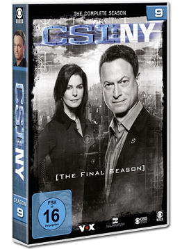 CSI: New York - Die komplette Season 9 Box (6 DVDs)