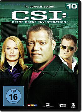 CSI: Las Vegas - Die komplette Season 10 Box (6 DVDs)