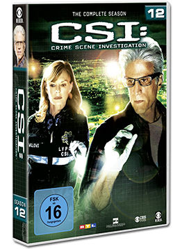 CSI: Las Vegas - Die komplette Season 12 Box (6 DVDs)