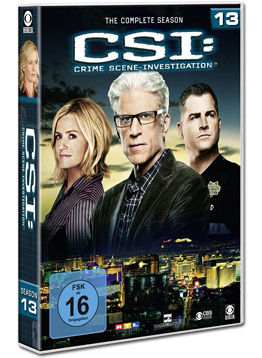 CSI: Las Vegas - Die komplette Season 13 Box (6 DVDs)