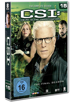 CSI: Las Vegas - Die komplette Season 15 Box (6 DVDs)