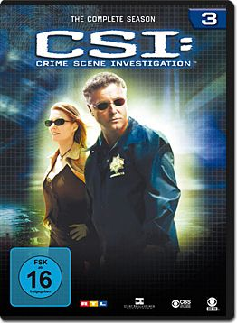 CSI: Las Vegas - Die komplette Season 03 Box (6 DVDs)