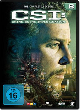 CSI: Las Vegas - Die komplette Season 08 Box (6 DVDs)