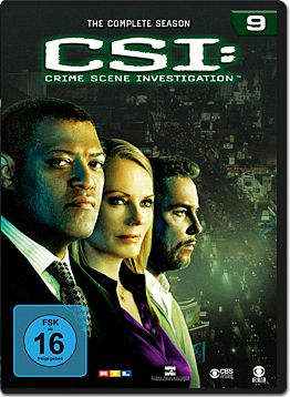 CSI: Las Vegas - Die komplette Season 09 Box (6 DVDs)