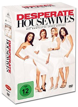 Desperate Housewives: Die komplette 1. Staffel (6 DVDs)