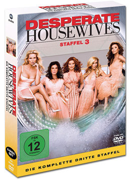 Desperate Housewives: Die komplette 3. Staffel (6 DVDs)