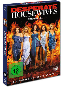 Desperate Housewives: Die komplette 4. Staffel (5 DVDs)