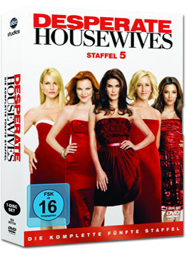 Desperate Housewives: Die komplette 5. Staffel (7 DVDs)