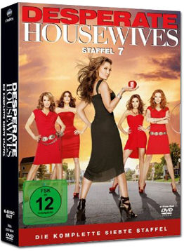 Desperate Housewives: Die komplette 7. Staffel (6 DVDs)