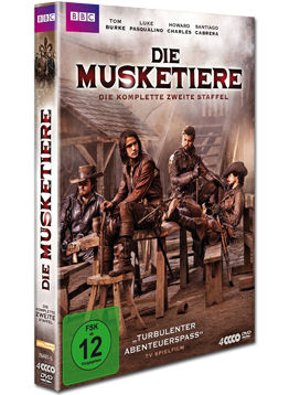 Die Musketiere: Staffel 2 Box (4 DVDs)