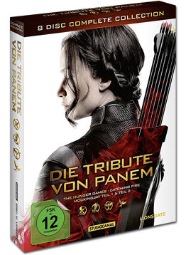 Die Tribute von Panem - Complete Collection (8 DVDs)