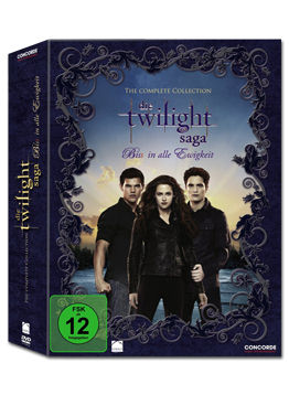 Die Twilight Saga - The Complete Collection (11 DVDs)