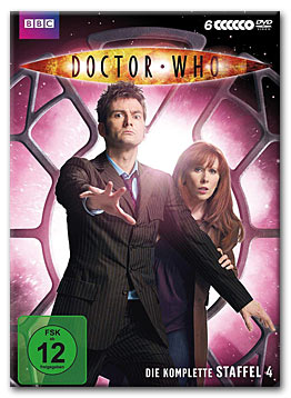 Doctor Who: Staffel 4 Box (6 DVDs)