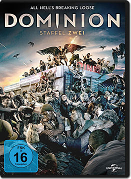Dominion: Staffel 2 Box (4 DVDs)