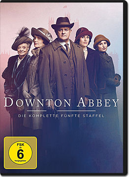 Downton Abbey: Staffel 5 Box (4 DVDs)