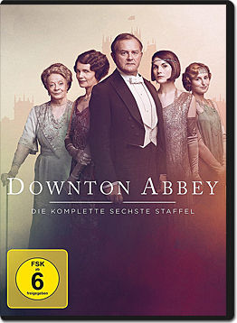 Downton Abbey: Staffel 6 (4 DVDs)