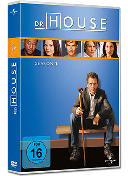 Dr. House: Staffel 1 Box (6 DVDs)