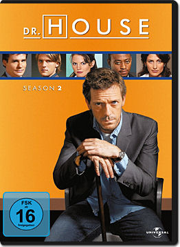 Dr. House: Staffel 2 Box (6 DVDs)