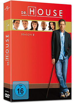 Dr. House: Staffel 3 Box (6 DVDs)