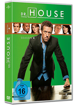 Dr. House: Staffel 4 Box (4 DVDs)