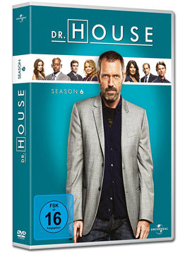 Dr. House: Staffel 6 Box (6 DVDs)