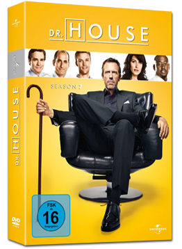 Dr. House: Staffel 7 Box (6 DVDs)