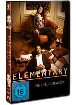 Elementary: Staffel 2 Box (6 DVDs)