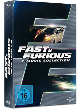 Fast & Furious - 7 Movie Collection (7 DVDs)