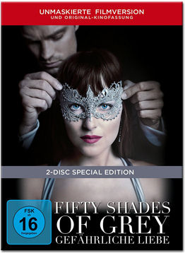 Fifty Shades of Grey 2: Gefährliche Liebe - Limited Digibook Edition (2 Discs)