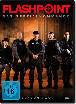 Flashpoint - Das Spezialkommando: Staffel 2 Box (3 DVDs)
