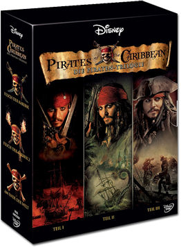 Pirates of the Caribbean - Die Piraten-Trilogie (3 DVDs)