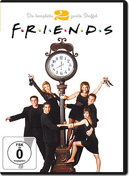 Friends: Staffel 02 Box (4 DVDs)