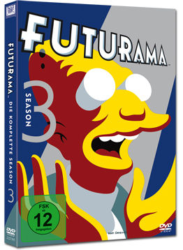 Futurama: Staffel 3 (4 DVDs)