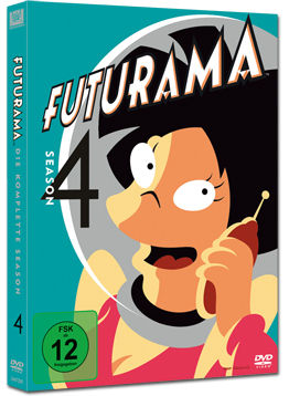 Futurama: Season 4 Box (4 DVDs)