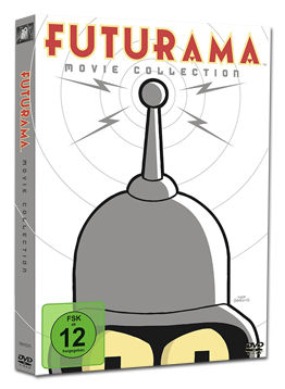 Futurama - Movie Collection (4 DVDs)
