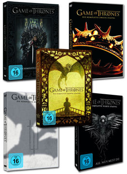 Game of Thrones: Staffel 1-5 Set (25 DVDs)