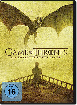 Game of Thrones: Staffel 5 (5 DVDs)