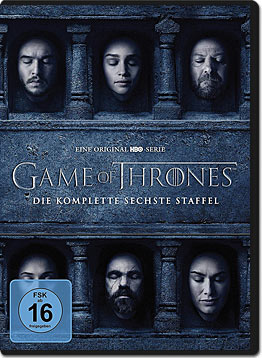 Game of Thrones: Staffel 6 Box (5 DVDs)