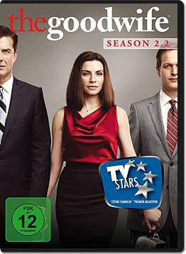 The Good Wife: Season 2 Teil 2 (3 DVDs)