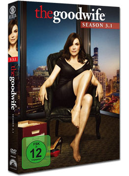 The Good Wife: Season 3 Teil 1 (3 DVDs)