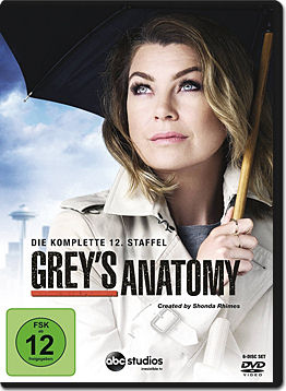 Grey's Anatomy: Staffel 12 Box (6 DVDs)